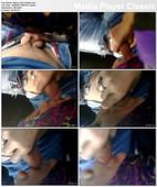 Hijab BJ Dalam Kereta