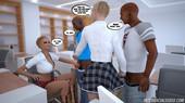 Interracialsex3d - School Lesson