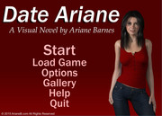 ARIANE BARNES VIRTUAL DATING GAME WITH ARIANE VERSION 1.1 BUILD 112