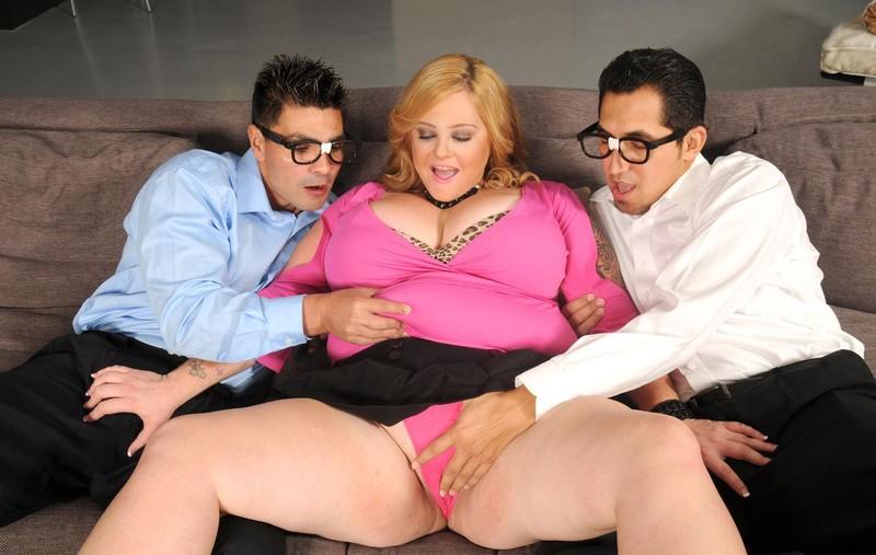 Kali Kala Lina   Thick Big Tits and 2 Boys Hardcore sex
