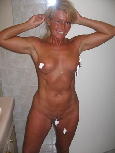 Taking off shirt big tits gif