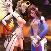 Tracer and widowmaker porn