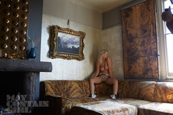 Glamour model Jess Davies topless Behind The Scenes 5