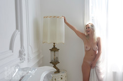 Glamour model Jess Davies topless Behind The Scenes 14