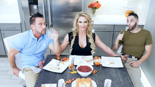 Family Strokes - Phoenix Marie (Army Boy Meets Busty Stepmom For Thanksgiving)