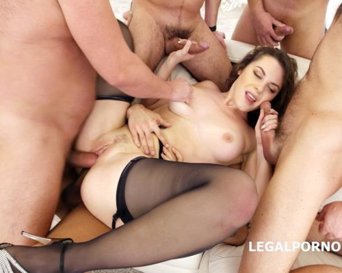 LegalPorno.com - Sofya Curly - Sofya Curly 5 On 1 Welcome To Porn With Balls Deep Anal, DP Breaking, Dap Breaking, Gape Breaking, Facial With Swallow GIO525