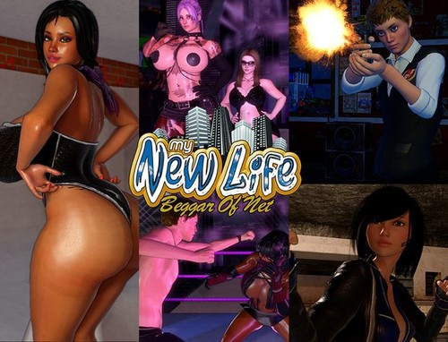 ckt4o7xr5634 - My New Life Version 1.4 (Fixed Version + Xtras) - Pussy Fights (Beggar of Net)