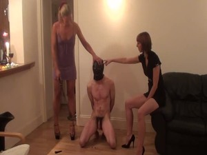 Tags: femdom, humiliate, strapon, torture, ass, latex, ballbusting