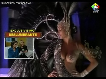 Celina Rucci busty showgirl with pasties
