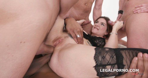 LegalPorno.com - Monsters of DAP with Adreena Winters 5on1 No Pussy / Hard / Balls Deep Dap / TP / Tunner Vision / Gapes / Messy Facial GIO548