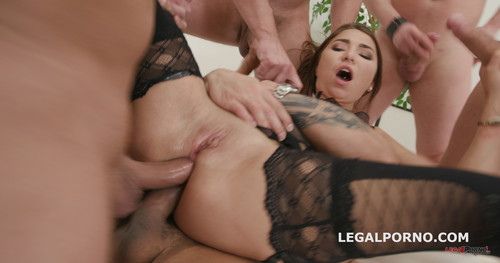 LegalPorno.com - DAP destination with Kandy Kors Short DP / DAP / gapes / swallow GIO556