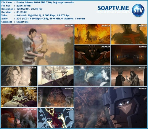 Dante S Inferno An Animated Epic Download Free Series Hd