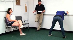 Two Girl School Paddling (part 1) - image6