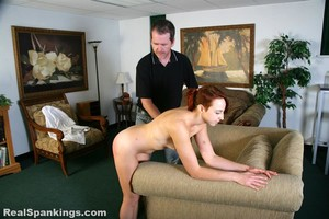 Pulled From The Shower For A Spanking - image6