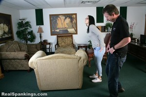 Jordyn Spanked With Belt And Spoon (part 1 Of 2) - image5