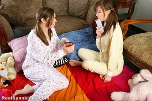 Sleepover Spanking (part 1 Of 2) - image6