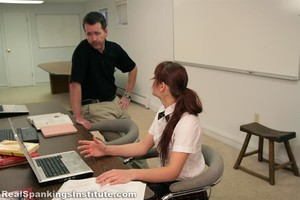 Syrena Spanked By The Dean - image4