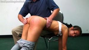Kiki: A Hard Bare Bottom Spanking - image4