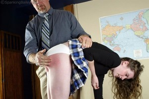 Bailey Is Spanked For Disturbance - image1