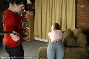 Spanked With A Belt - image1