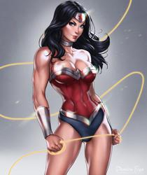 Wonder Woman from Batman Artwork Collection