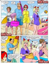 Family from Milftoon