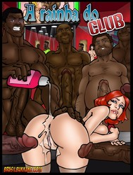 Interracial gangbang comics