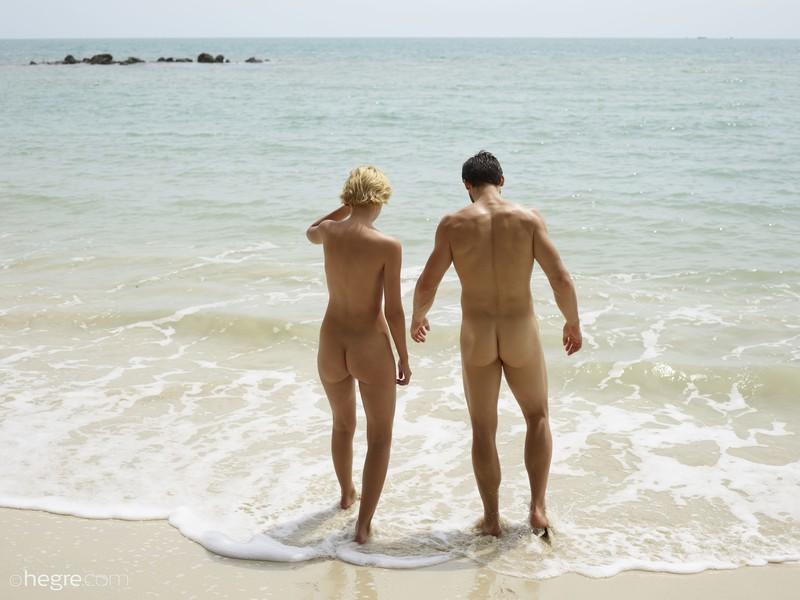 Hegre sex on the beach