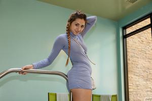 Keira Romero - Keira Romero Has Dress Trouble  46rsn6wzlw.jpg