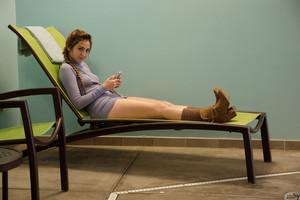 Keira Romero - Keira Romero Has Dress Trouble  j6rsn69o4e.jpg