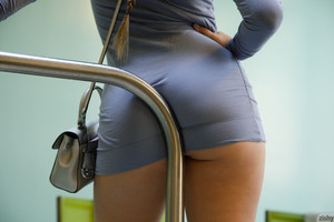 Keira Romero - Keira Romero Has Dress Trouble  f6rsn6u1m4.jpg