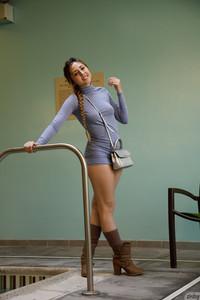 Keira Romero - Keira Romero Has Dress Trouble  n6rsn6rh2q.jpg